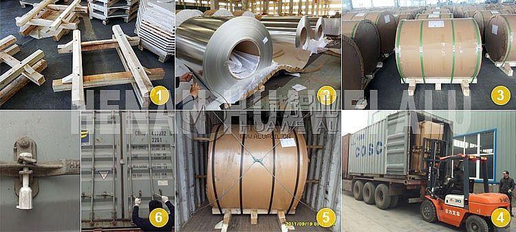 1100 aluminum coil packing