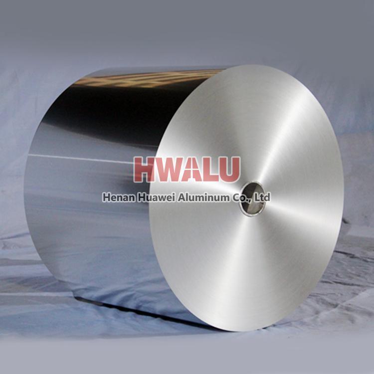 papier d'aluminium pour conteneur