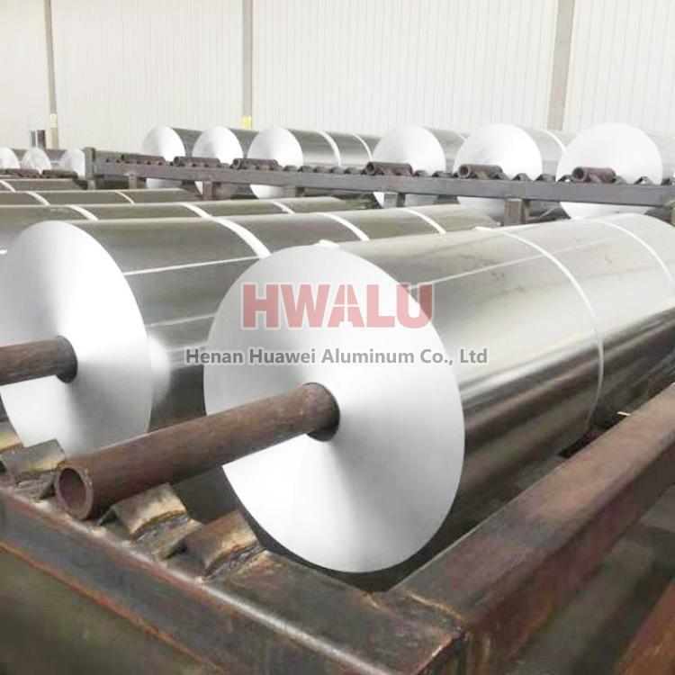 papier d'aluminium pour ruban adhésif