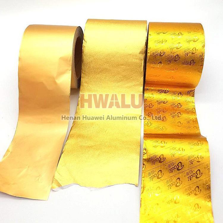 papel de aluminio decorativo