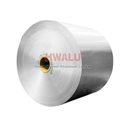 aluminum foil label