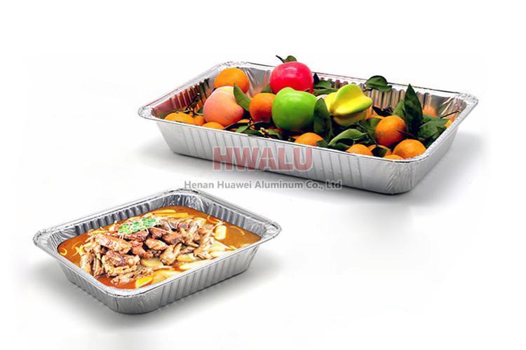aluminum foil lunch box