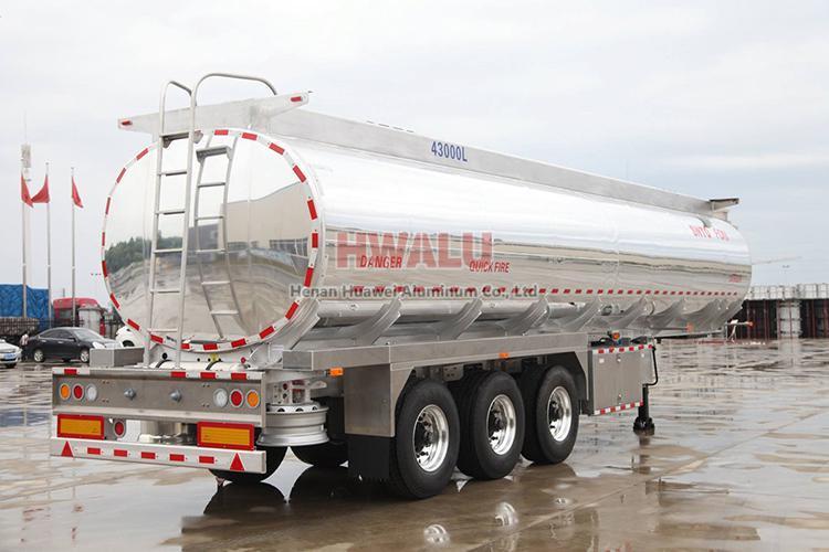 aluminum sheet oil tank