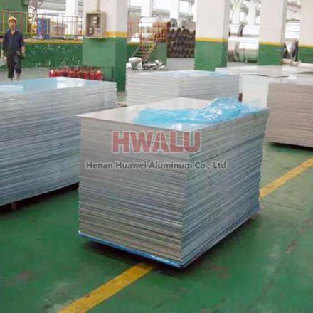 placa de aleación de aluminio 5052