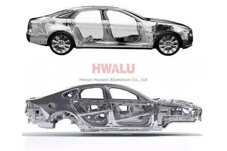 zinc metal sheet stamping aluminum automobile