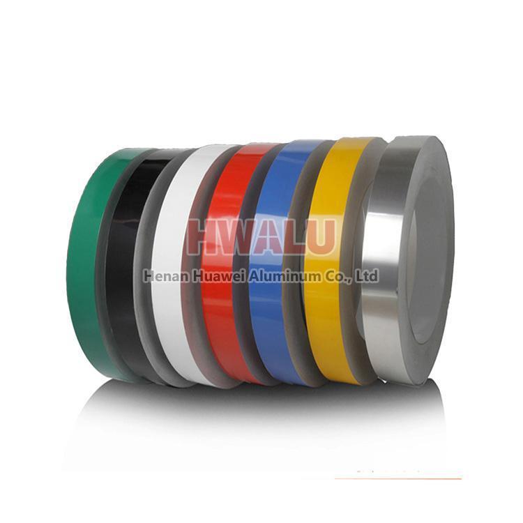 aluminum colored strip