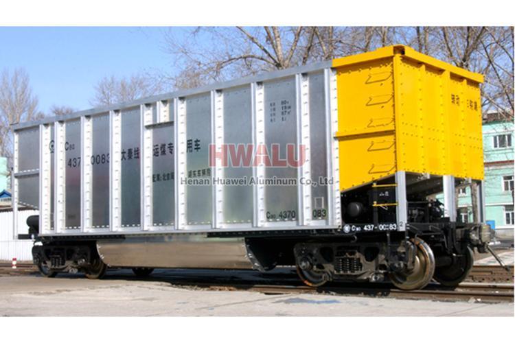 aluminum sheet truck