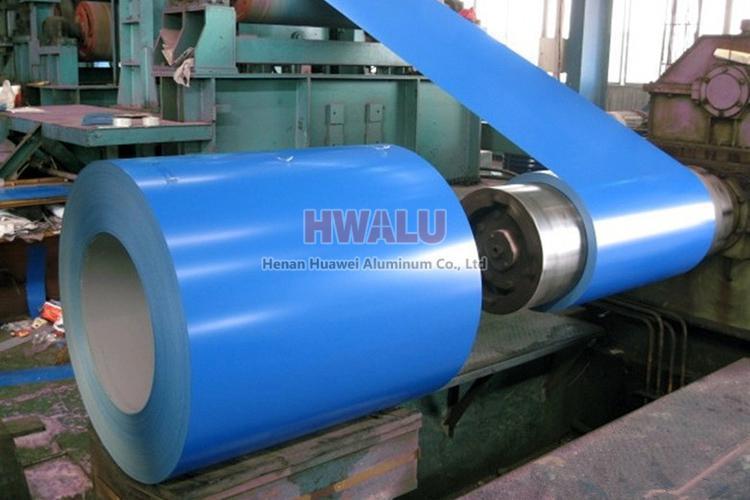 colour coated aluminum coil