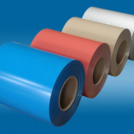 aluminum sheet roll coated