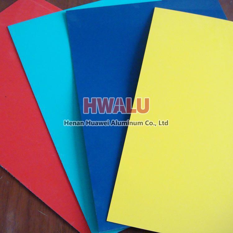 color aluminum sheet