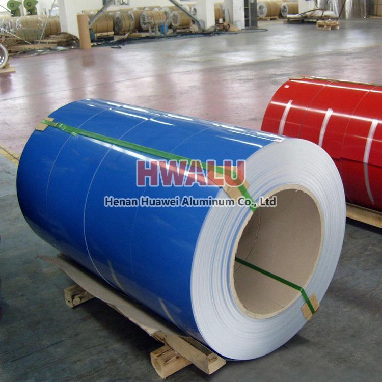 coated aluminum strip