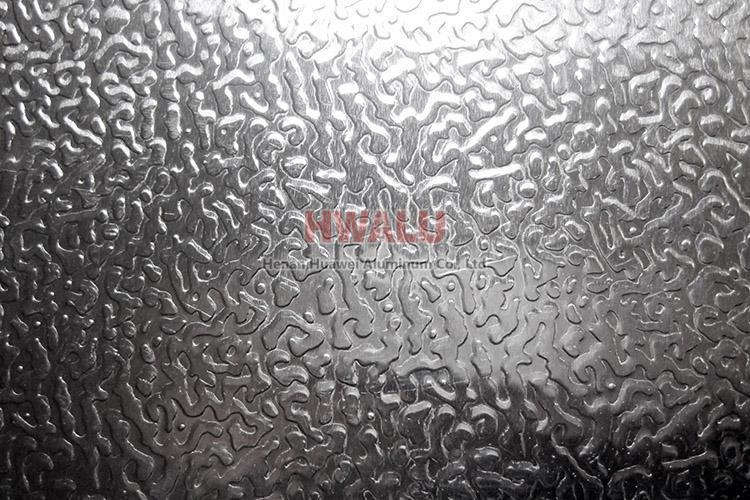 stucco embossed aluminium sheet