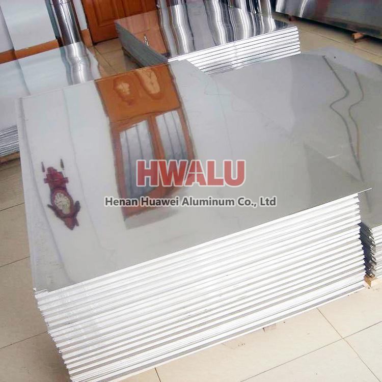 mirror aluminum sheet