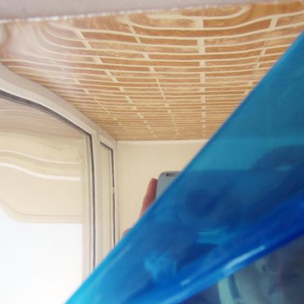 feuille d'aluminium finition miroir