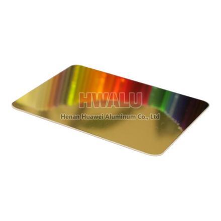 color mirror aluminum
