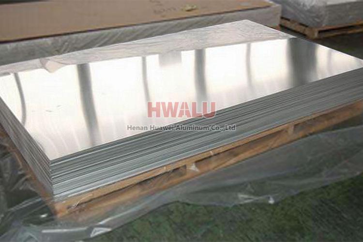 Polished mirror aluminum plate sheet